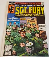 Sgt. Fury and his Howling Commandos # 156   (Marvel  1980)    Fine Plus