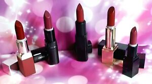 WINE RED LIPSTICK LOT × 5 Estee Lauder Clinique Smashbox Fig Inglot 426