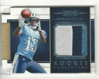 2012 Prominence Materials Die-Cut Prime #d 34/49 Kendall Wright #26 Rookie