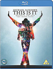 Michael Jackson - This Is It (Blu-ray, 2010)  FREE SHIPPING