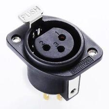 FT-786F(R) Official FURUTECH high-end grade XLR socket female rhodium plating