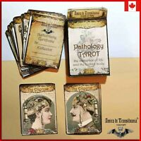 pathology tarot cards card deck rare vintage major arcana oracle book guide