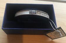 Swarovski Intervalle Thin Bangle Bracelet 6cm! New & Genuine!