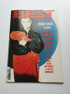 REVUE BEST N° 261 AVRIL 1990 S. O'CONNOR DEPECHE MODE PHIL COLLINS BOWIE...