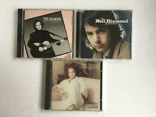 Sealed Neil Diamond 3 Cd Lot including The Best Years of Our Lives