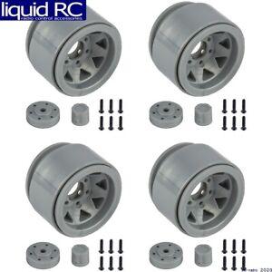 Associated 42110 Enduro Trigon Wheels 1.55 silver