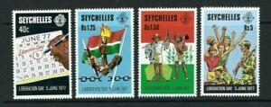 Seychelles 1978, Liberation Day sg424/7 MNH