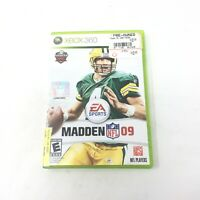 Madden NFL 09 Microsoft Xbox 360 Game, 2008 - Tested - EA Sports Free Shipping