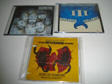 Wu-Tang Lot 3 mixtapes CDs rare