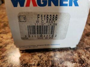 NOS GENUINE WAGNER F116386 REAR DRUM BRAKE WHEEL CYLINDER