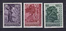 Liechtenstein 1959 postfrisch MiNr. 377-379 Einheimische Bäume Sträucher  /(2)