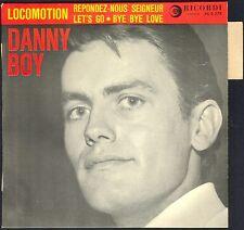 DANNY BOY LOCOMOTION MC CARTNEY 45T EP BIEM RICORDI 45 S 229 avec LANGUETTE