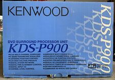 New in Box Kenwood KDS-P900 5.1ch Dsp Surround Processor,DVD Surround,NOS,NIB