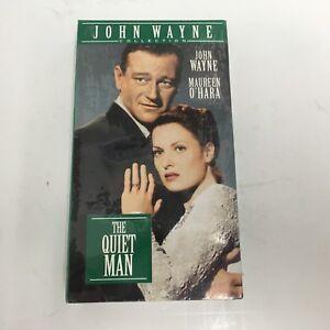 THE QUIET MAN Irish Classic VHS JOHN WAYNE Maureen O'hara 1952 NEW THE DUKE
