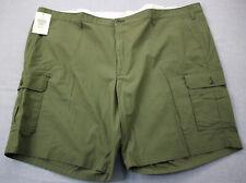 cd2acb5708 DOCKERS Logo Mens Green Stretch Cargo Shorts Size 56 Big & Tall