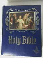 Holy Bible Master Reference Red Letter Edition Masonic Heirloom Signed 1984