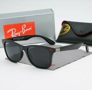 Gafas De Sol unisex Rayban. Elige detalle patilla dorado o gris