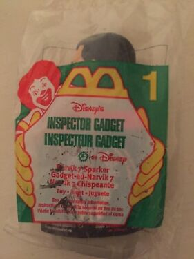 1999 Inspector Gadget McDonalds Happy Meal Toy  Narvik 7 Sparker 1 NIP