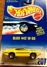 NIP HOT WHEELS OLDS 442 W-30 NEW PAINT STYLE COLLECTOR #267