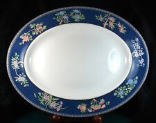 Wedgwood Blue Siam 14 Inch Oval Platter 1st Quality New Unused