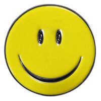 Smile Face Magnetic Clip Golf Ball Marker Clip On Golf Cap Hat Visor~ M1A0