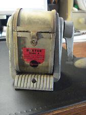 Vintage....Dexter Model A  Swing Box.....Pencil....Sharpener....Desk Mount