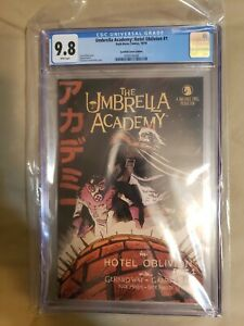 Umbrella Academy Hotel Oblivion #1 Ssalefish Edition CGC 9.8