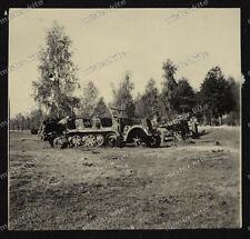 photo-borgward Zugmaschine-sd.kfz.11-Halbkettenfahrzeug-wehrmacht-3