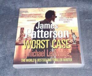 James Patterson - Worst Case - 6 CD Audio Book Set - Unabridged