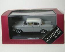 Opel Kapitän (gris/blanco) 1958