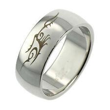 Men's No Stone Rings