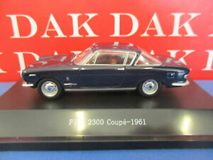 Die cast 1/43 Modellino Auto Fiat 2300 Coupe blu notte 1961 by Starline