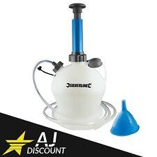 Pompe manuelle d'extraction Huile / Eau de vidange 4L Auto / Moto / Scooter