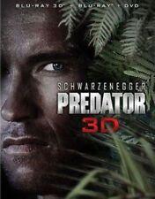 Predator 3d 0024543874188 With Arno Schwarzenegger Blu-ray Region a