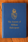 The Sonnets of William Shakespeare Edited by Levi Fox COTMAN HOUSE Miniature HC