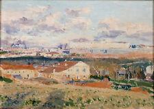 Oil painting aureliano de beruete y moret - La Casa del Sordo impressionism art
