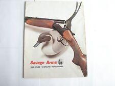 1968 Savage Arms Rifles - ShotGuns - Accessories Catalog Information Magazine