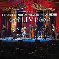 Steve Martin and the Steep Canyon Rangers Edie Brickell: Live (CD/Blu-ray) NEW