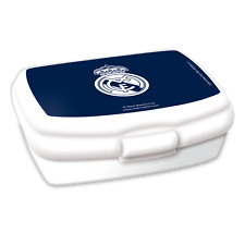 Sonderpreis ! Brotdose/Lunchbox  Real Madrid Fussball Fanartikel