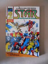 STAR MAGAZINE n°28 1993 Natale con Supereroi Rivista Marvel  Star Comics [G863]