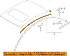 AUDI OEM 11-17 A8 Quattro Roof-Drip Channel Left 4H4853701AGRU