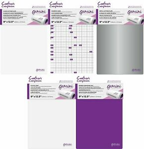 Crafter's Companion Gemini Replacement A4 Plates, Shims, Embossing Mat & Bag