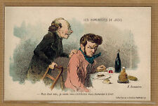 CPA illustrateur Daumier les humoristes de jadis tp0650