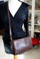 Coach Brown Crossbody Handbag Vintage shoulder bag or Purse Leather Brown