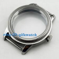 P647 Sterile 44mm 316L Steel Watch Case Fit ETA 6497/6498 Seagull ST36 Movement