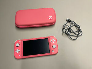 Nintendo Switch Lite Console  Coral ref 160