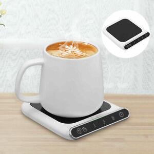 Smart USB Coffee Mug Warmer Tea Milk Cup Heater Pad Heating Plate Office Home