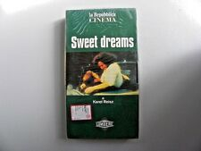"VHS VIDEOCASSETTA "" SWEET DREAMS "" UN FILM DI  KAREL REISZ GB 1985"