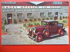 POSTCARD SMOKY MOUNTAIN CAR MUSEUM - 1931 PONTIAC DELUXE COUPE CHIEF OF THE SIXE
