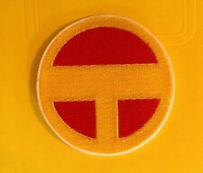 superhero Red Tornado embroidered patch applique